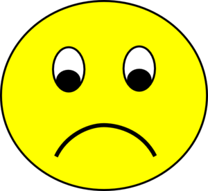 Sad face sad smiley face clipart free clipart images