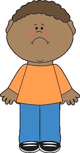 Sad Little Boy Clip Art Sad Little Boy Image