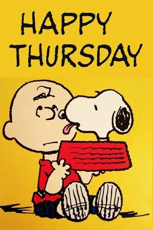 Sad Snoopy Happy Thursday Clipart