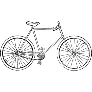 Safety Bicycle Clipart