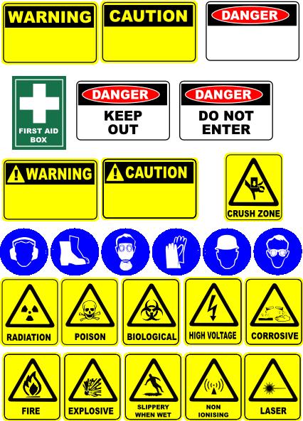 Safety Signs Clip Art At Clker Com Vector Clip Art Online Royalty