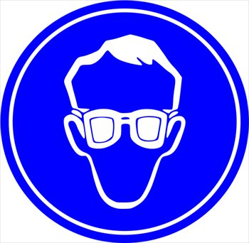 Safety symbols clip art free .
