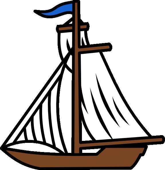Sail Boat Clip Art At Clker Com Vector Clip Art Online Royalty Free