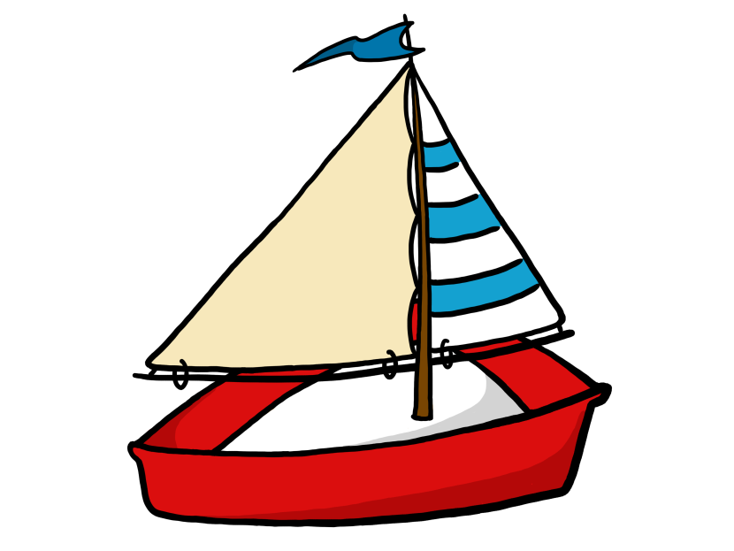 Sailboat clipart 2