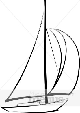 Sailboat Clipart Black And White-hdclipartall.com-Clip Art277