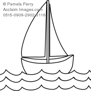 Sailboat Clipart Black And White-hdclipartall.com-Clip Art300