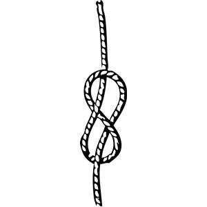 Sailor knot clipart kid