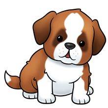 Saint Bernard Dog - Lots of clip art on this site