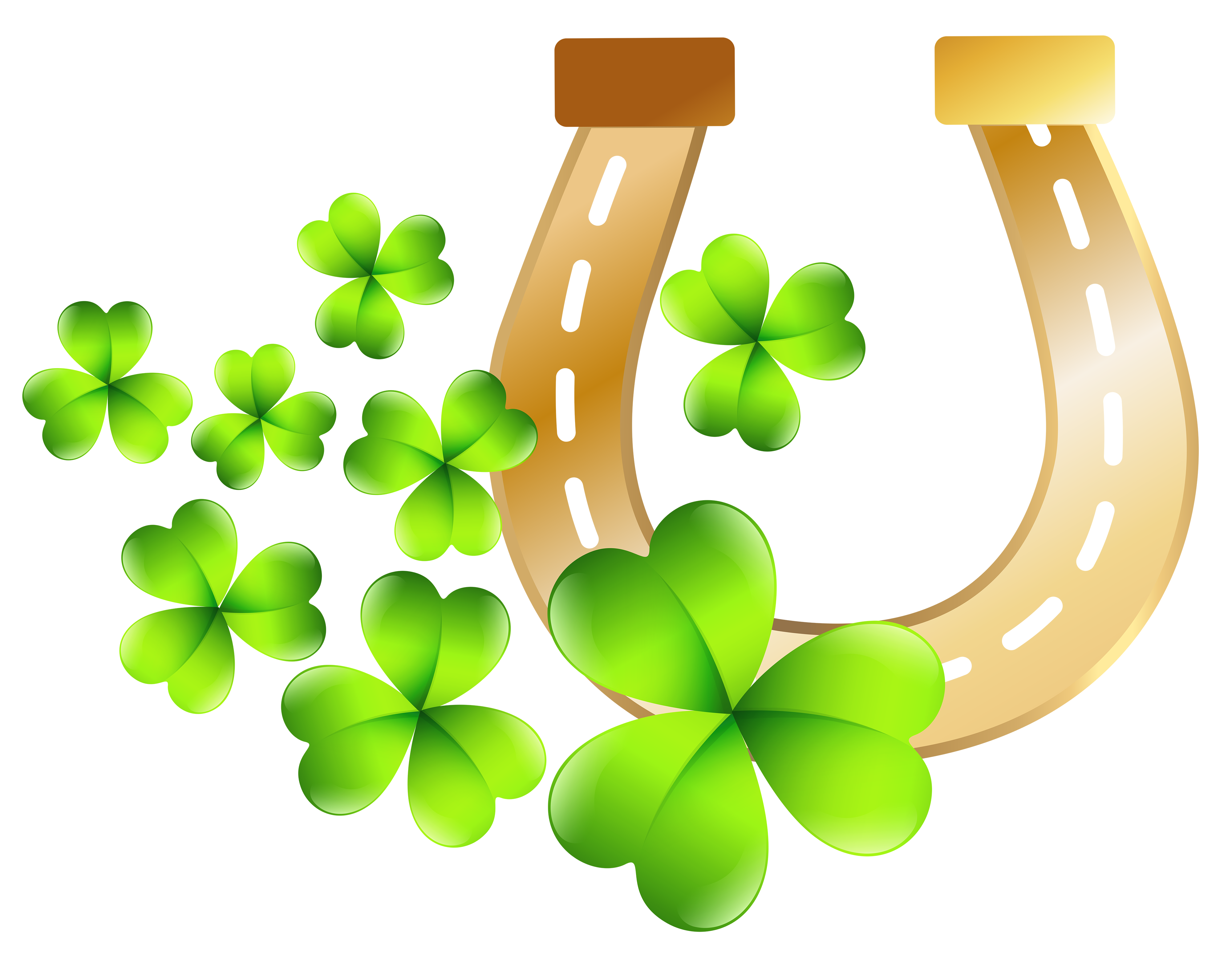 Crammed Free St Patricks Day Clipart Patrick S Horseshoe PNG Clip Art Image  Gallery