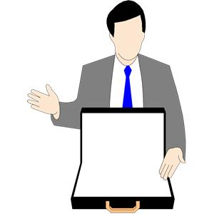 Salesman. Salesman Clip Art