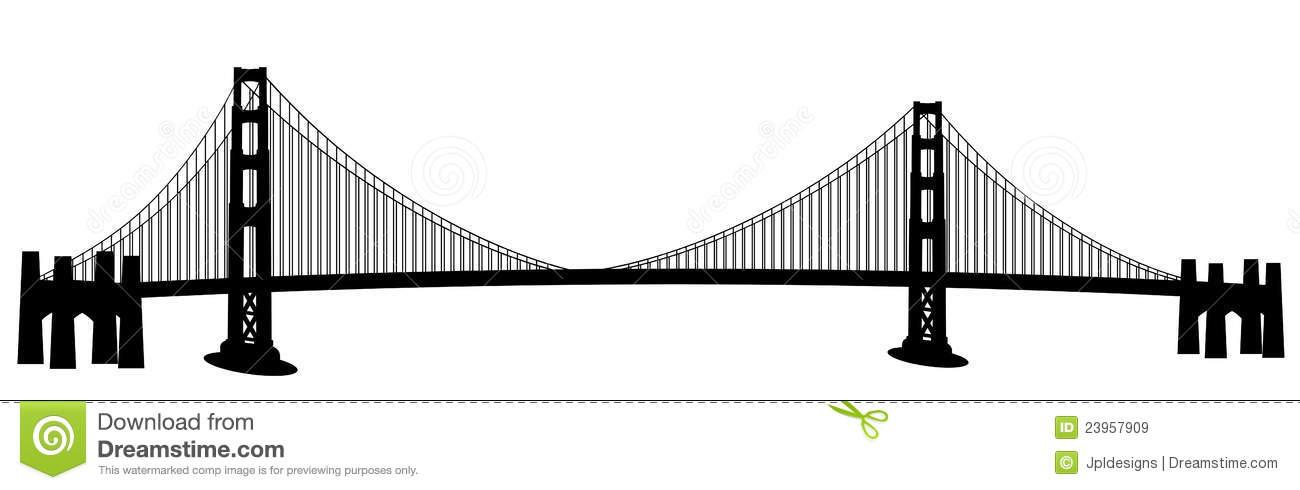 San Francisco Golden Gate Bridge Clip Art