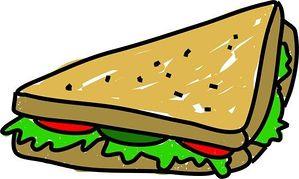 sandwich clipart #k0589004