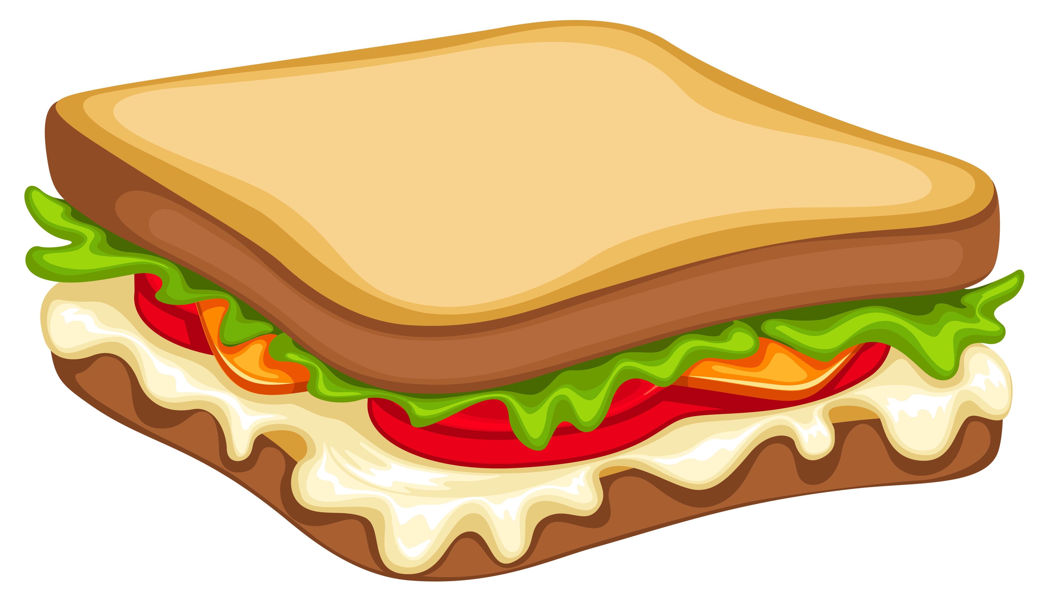 Sandwich PNG Clipart Vector Image