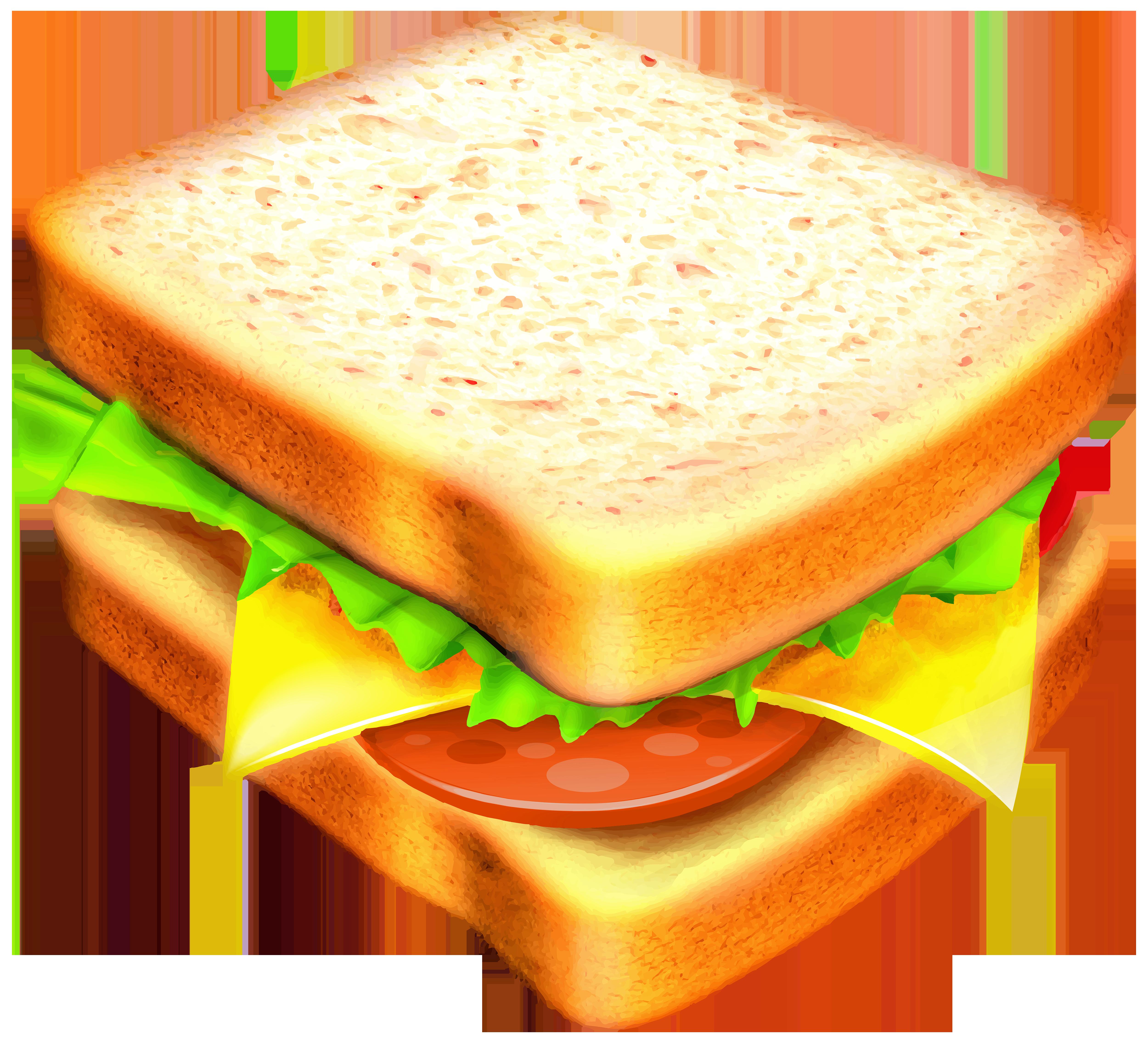 Sandwich Transparent PNG Clipart Image