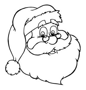 Santa Clip Art Images Santa Stock Photos Clipart Santa Pictures