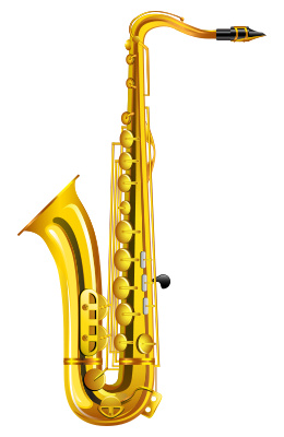 Free Saxophone Clipart Clipart