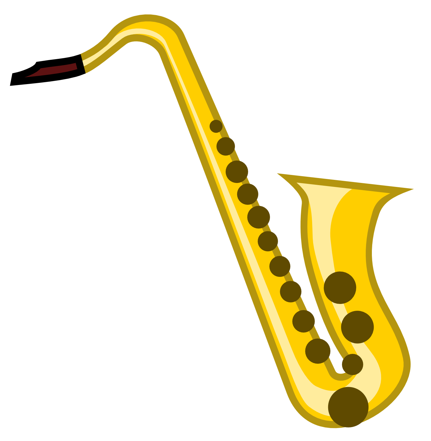 Saxophone Clipart Day #5