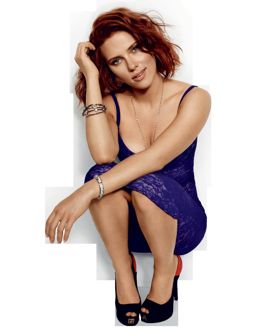 Scarlett johanson clipart