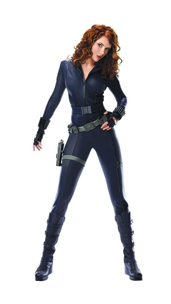 Scarlett johansson clipart black widow