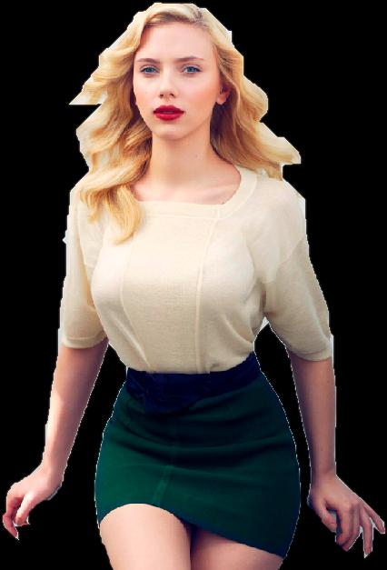 Scarlett Johansson Dress Png PNG Image