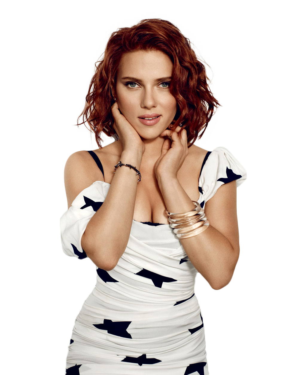 Scarlett Johansson Face Png PNG Image