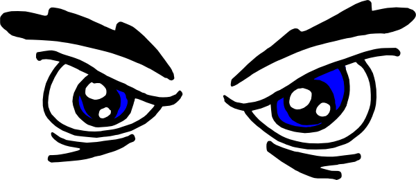 Scary Eyes Clip Art. Download this image as: