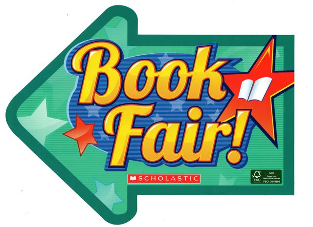 Scholastic Book Fair Clipart. Book Fair Arrow