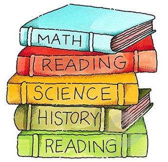 School Books Clip Art   Emmaus