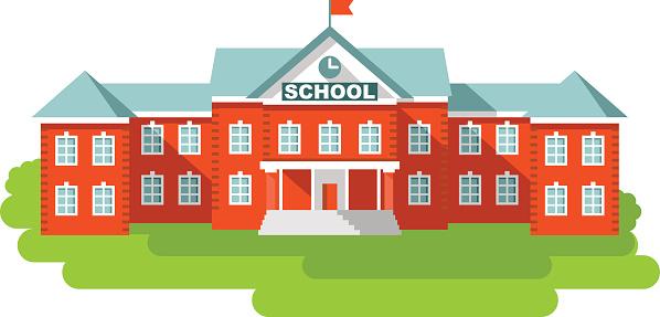 Lovely School Building Clipar