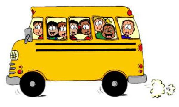 School bus clipart 2