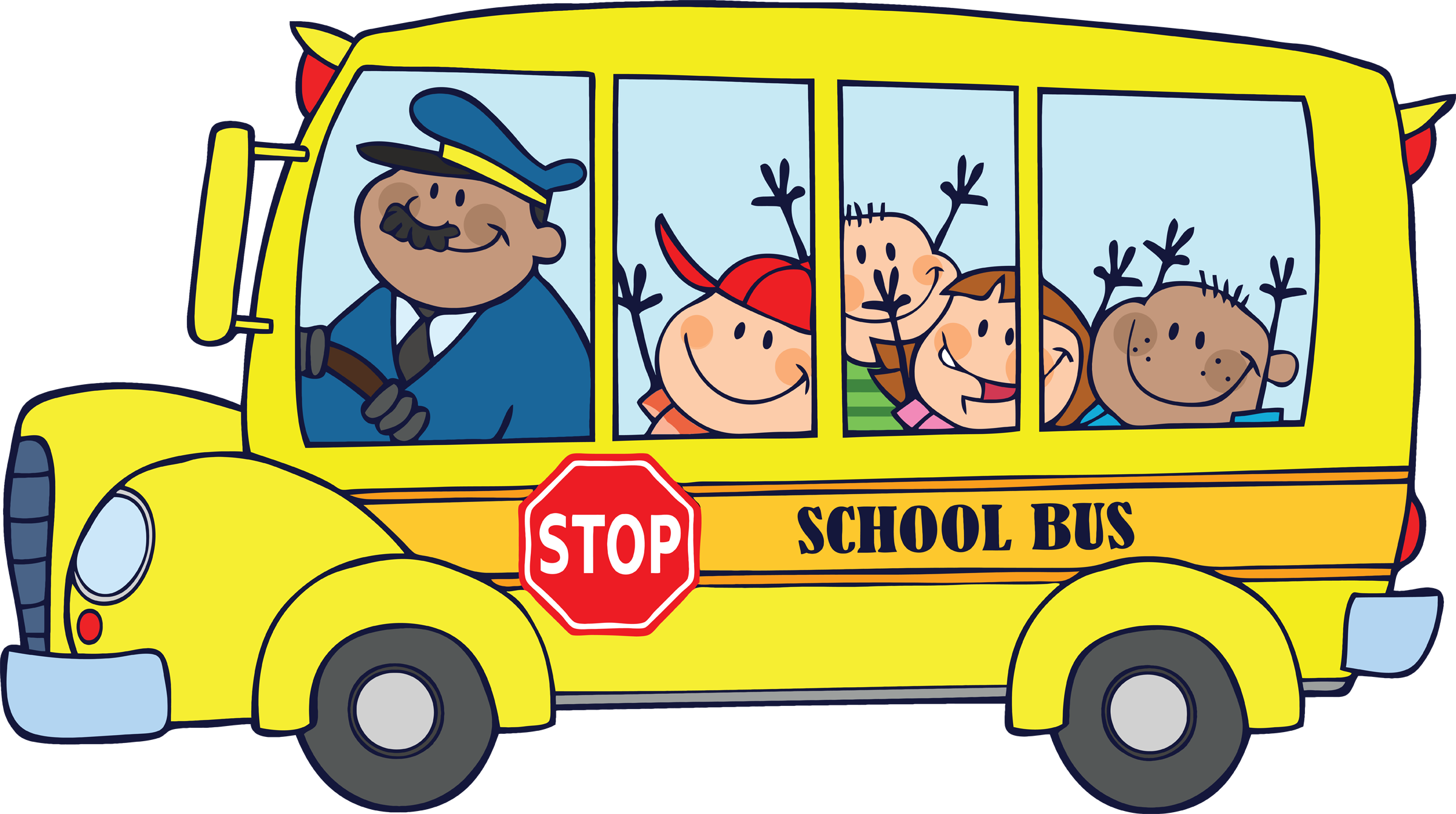School Bus Front. My Homepage - Powered By .