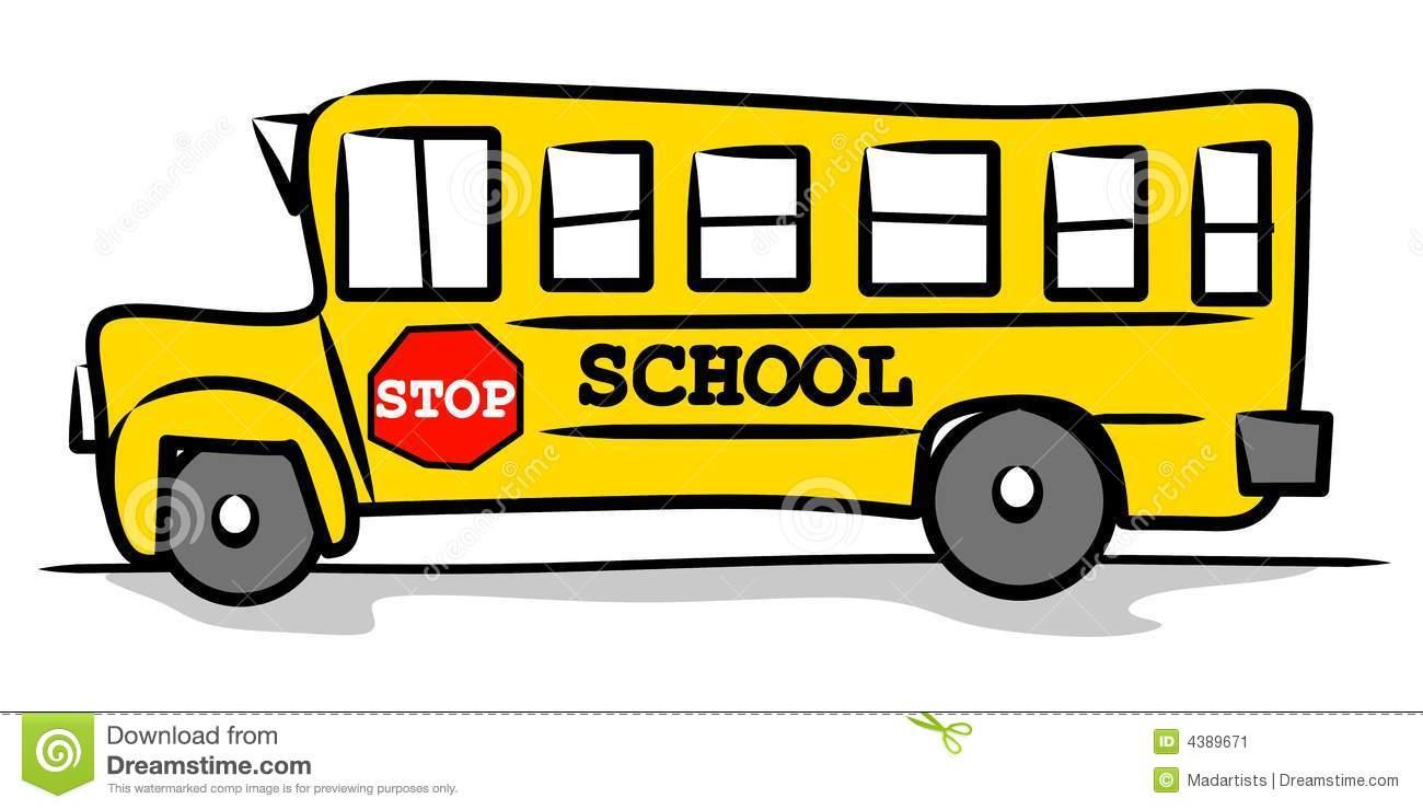 School Bus Sign Clipart #1