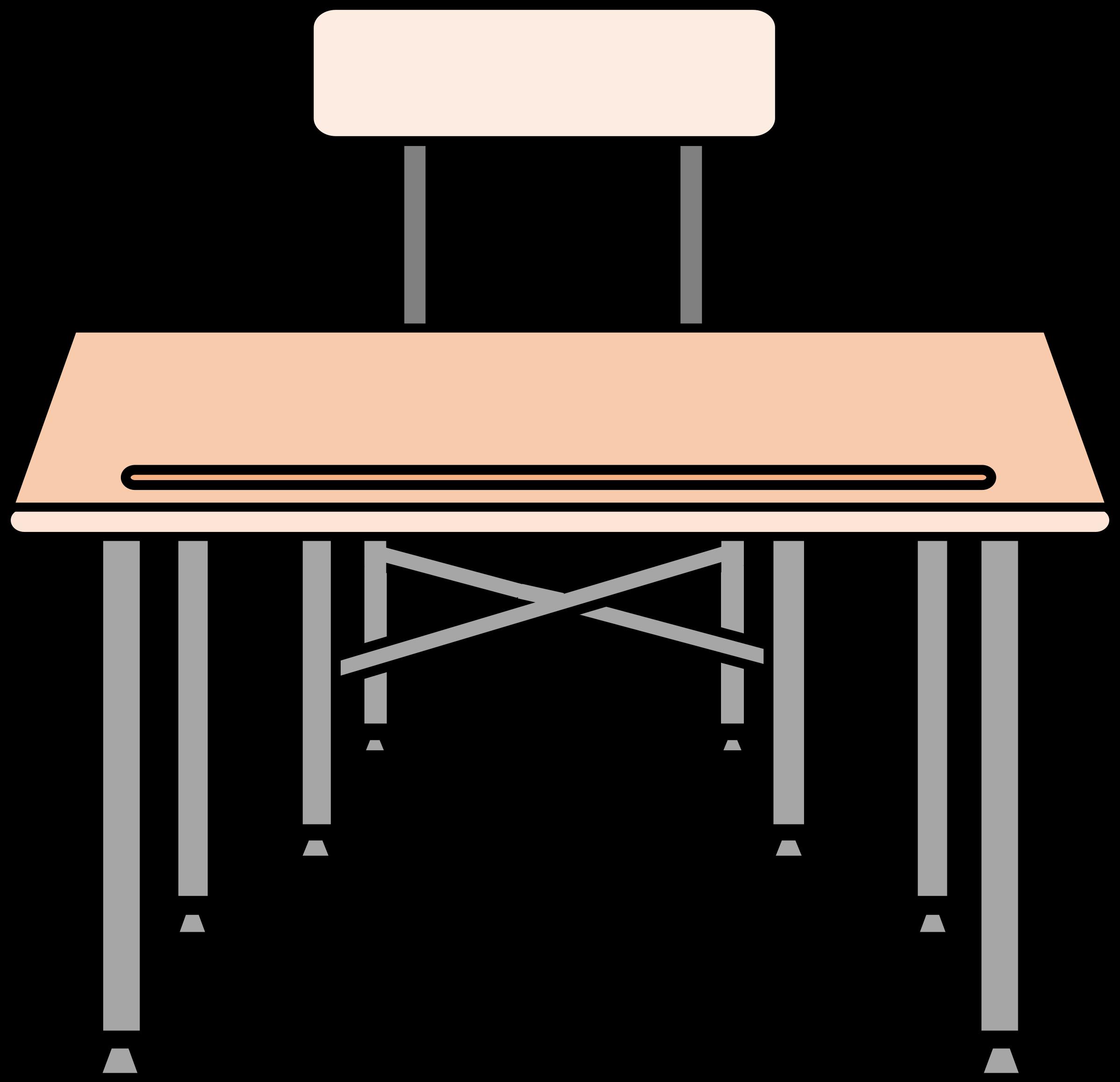 School Desk Clipart