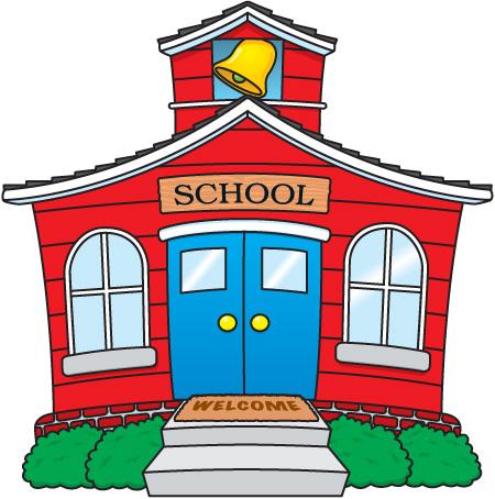 School For Clip Art - School Clipart