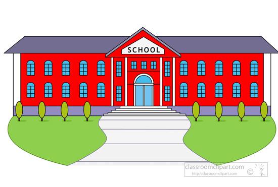 School High School Building .