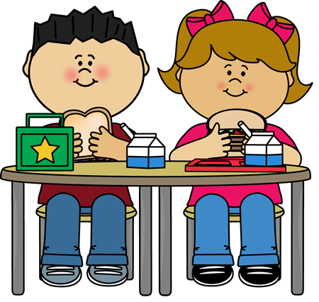 School Lunch Table