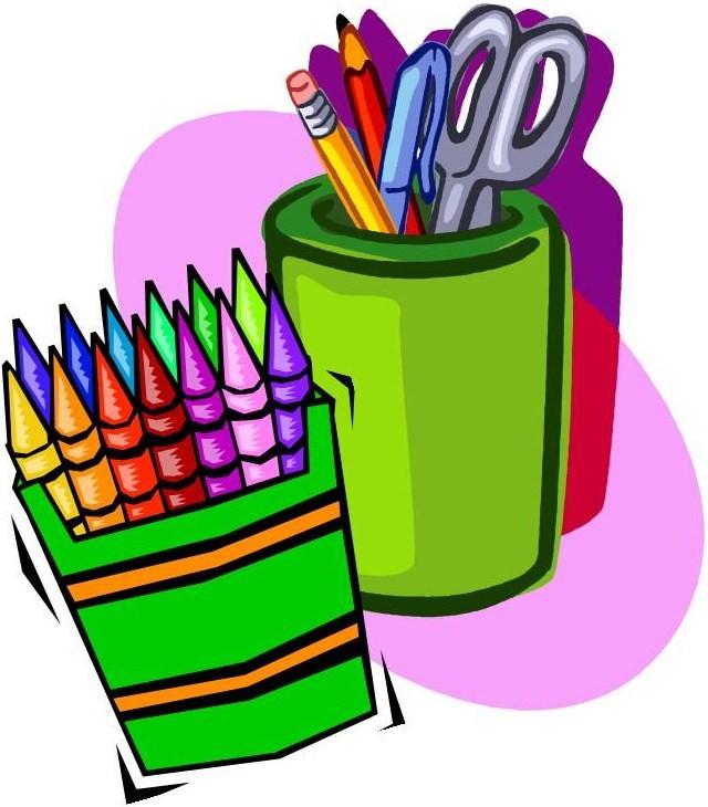 School supplies art supplies .