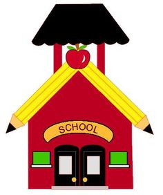 Bell clipart schoolhouse #11