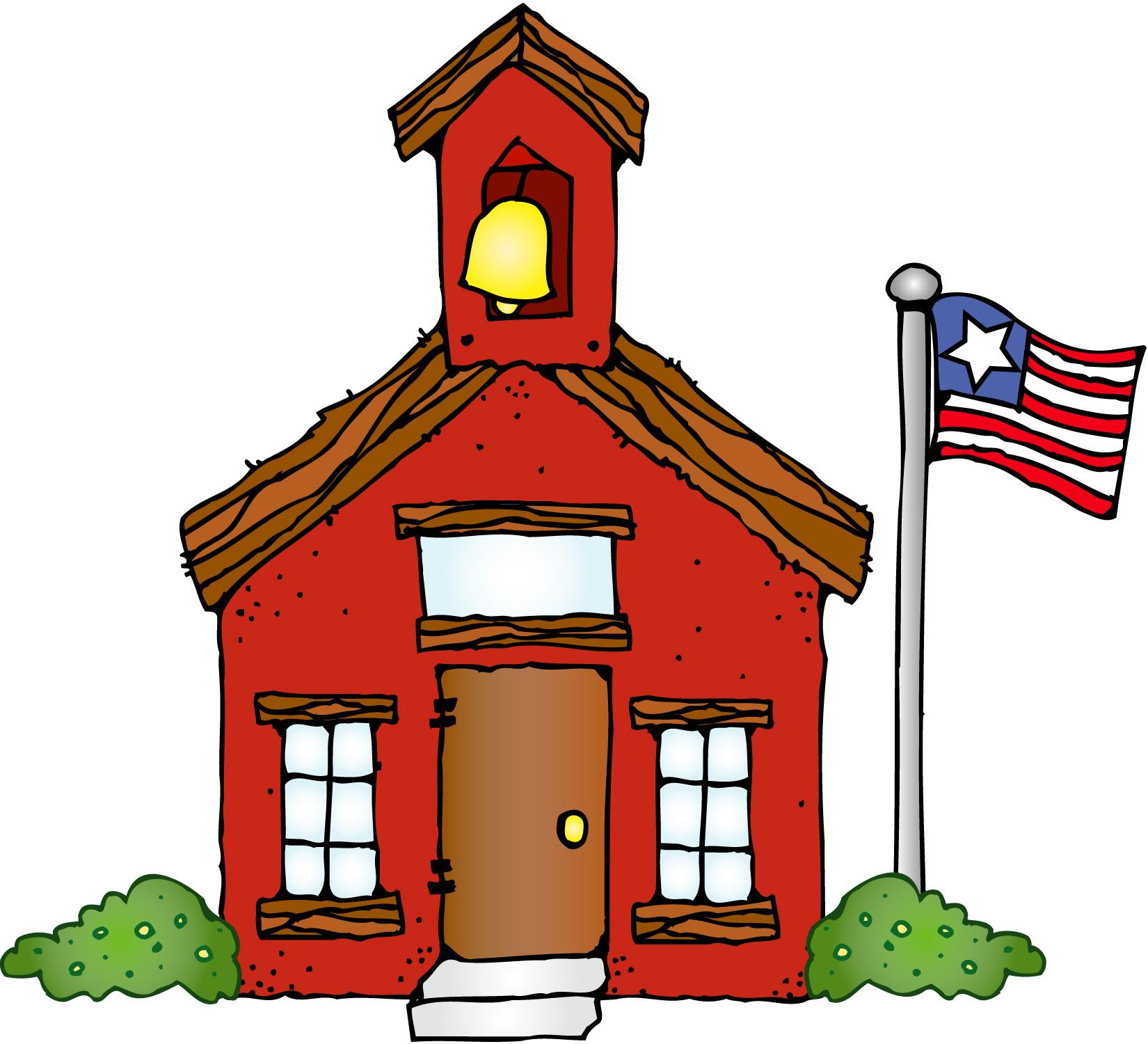 Clipart Schoolhouse Clipart