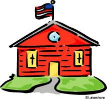 Clipart Schoolhouse Clipart - Schoolhouse Clipart