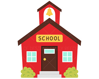 School House Clipart - JPEG Image #18478