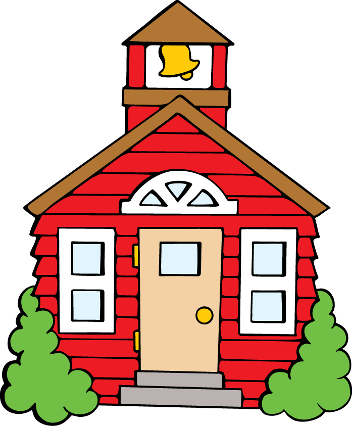 School House Clipart - PNG Image #18566