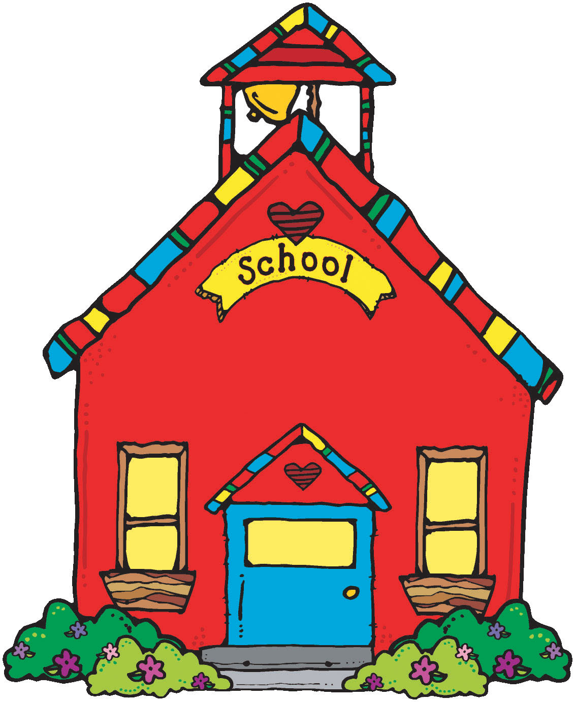 School House Red Schoolhouse Clipart