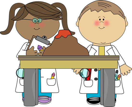 Kids doing science clipart - Science Clipart