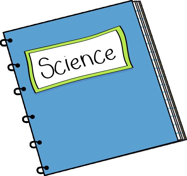 Science Notebook Clip Art Science Notebook Vector Image
