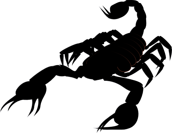 Scorpion Clipart this image as: