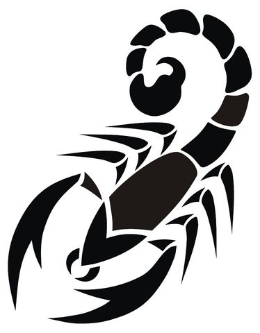 Scorpion Clipart #1