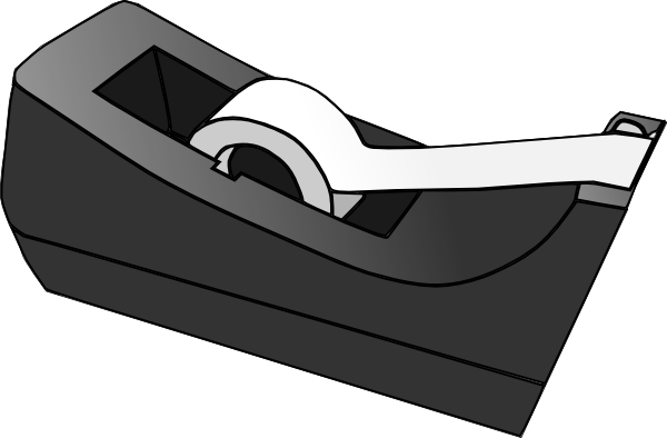 Scotch Tape Clip Art At Clker Com Vector Clip Art Online Royalty