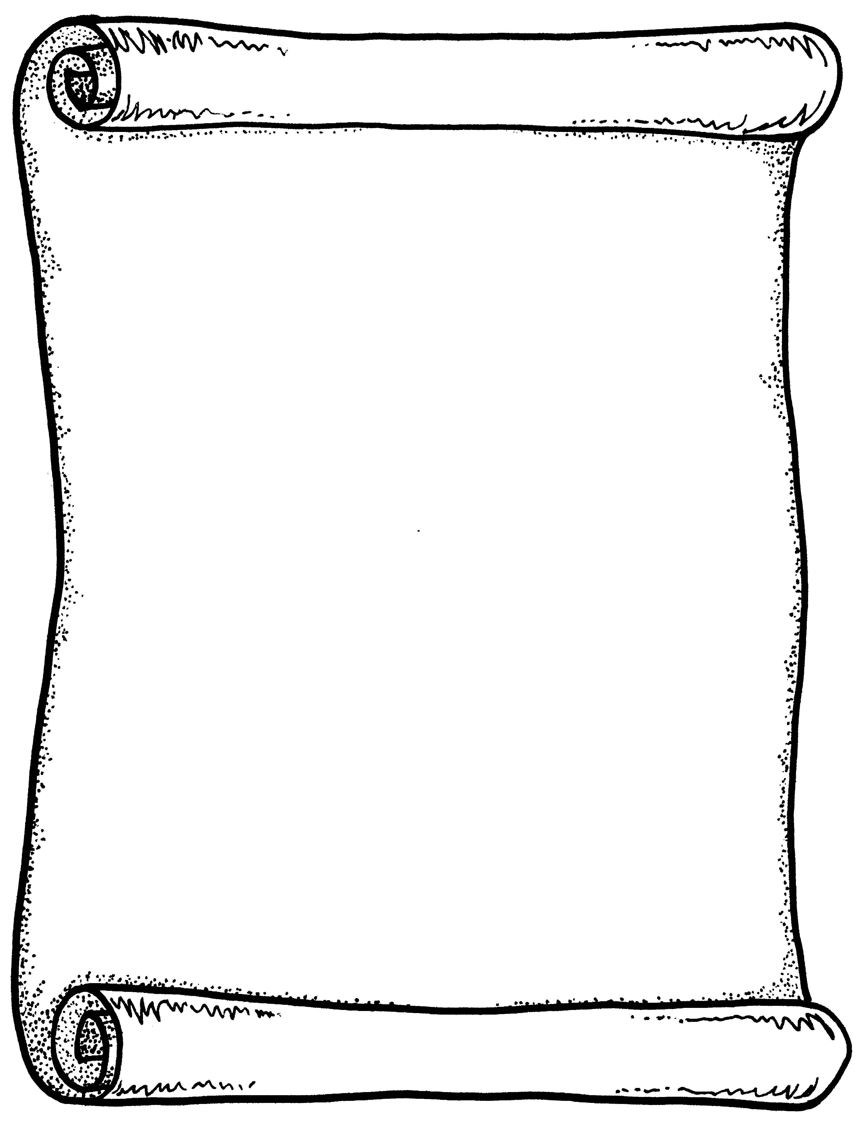 Scroll Clip Art #2746