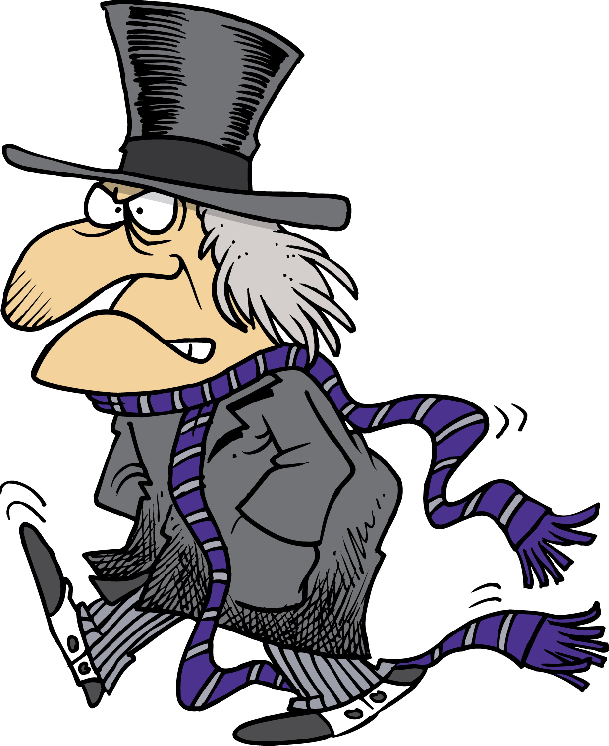scrooge clipart